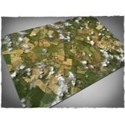 Terrain Mat Cloth - Aerial Field - 120x180