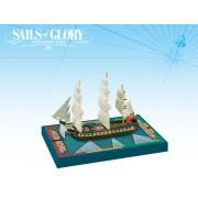Sails of Glory - Hamadryad 1797