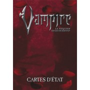 Vampire le Requiem - 2ème Edition - Cartes d'Etat