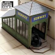 G.C. Downtown Subway Entranc