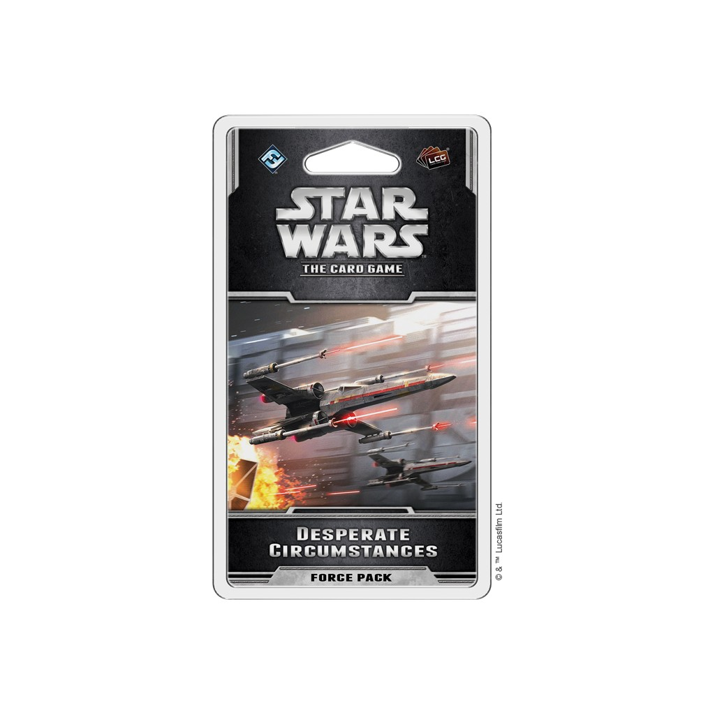 Star Wars LCG Desperate Circumstances Force Pack Expansion