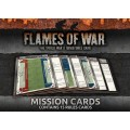 Flames Of War Mission Cards 0