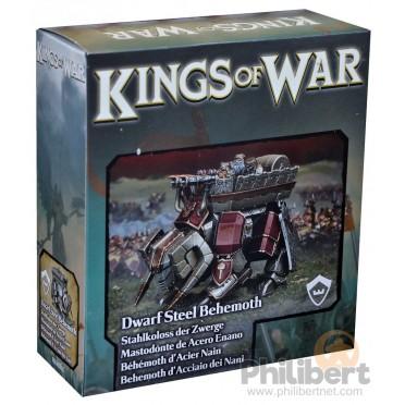 Kings of War - Behemoth d'Acier Nain