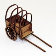 C16-C17 Covered Baggage Cart