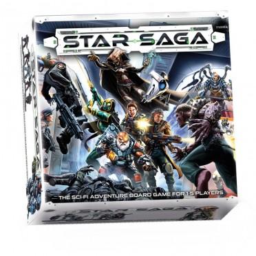 Star Saga (Anglais)