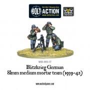 Bolt Action - Blitzkrieg German 81mm Medium Mortar Team (1939-42)
