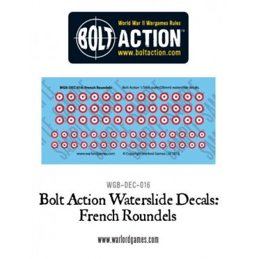 Bolt Action - French Vehicle Decals