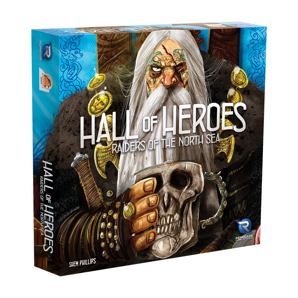 Buy Raiders Of The North Sea Hall Of Heroes Board Game