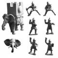 Carthaginian Elephant with War Tower (B) 0