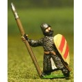 Late Medieval: Isleman / Galloglaich in Mail Coat with Kite Shield & spear 0
