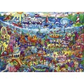 Puzzle - Magic Sea de Rita Berman - 1000 Pièces 1