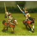 Samurai: Mounted General with Bodyguard 0