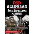 Dungeons & Dragons 5e Éd. : Spellbook Cards - Races & Puissances Martiale 0