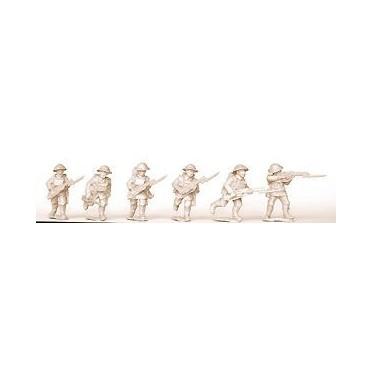 British Infantry Advancing