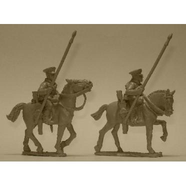 British Cavalry with Lances