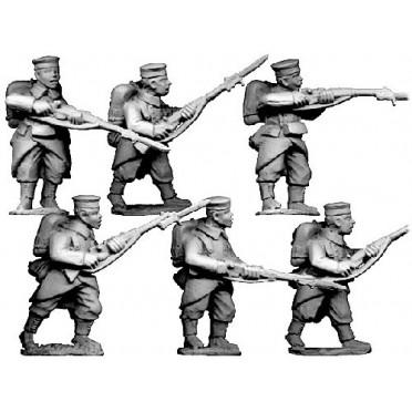 Grenadiers/ Infantry in Caps