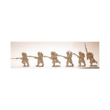 French Infantry Advancing in Packs
