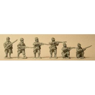 French Infantry Skirmishing in Light Equipment