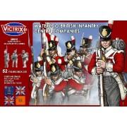 Waterloo British Infantry Centre Companies