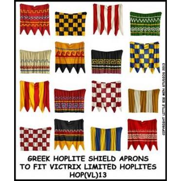 Greek Hoplite shield aprons 13