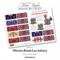 Napoleonic British Line Infantry (Waterloo campaign) 3