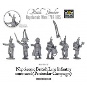 Napoleonic British Line Infantry command (Pensinsular War)