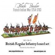 French Indian War 1754-1763: British Regular Infantry