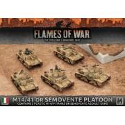 M14/41 or Semovente Platoon