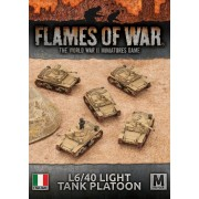 L6/40 Light Tank Platoon
