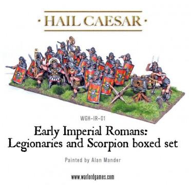 Hail Caesar - Early Imperial Romans: Legionaries and Scorpion