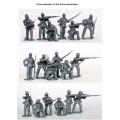 American Civil War Union Infantry in sack coats Skirmishing 1861-65 0