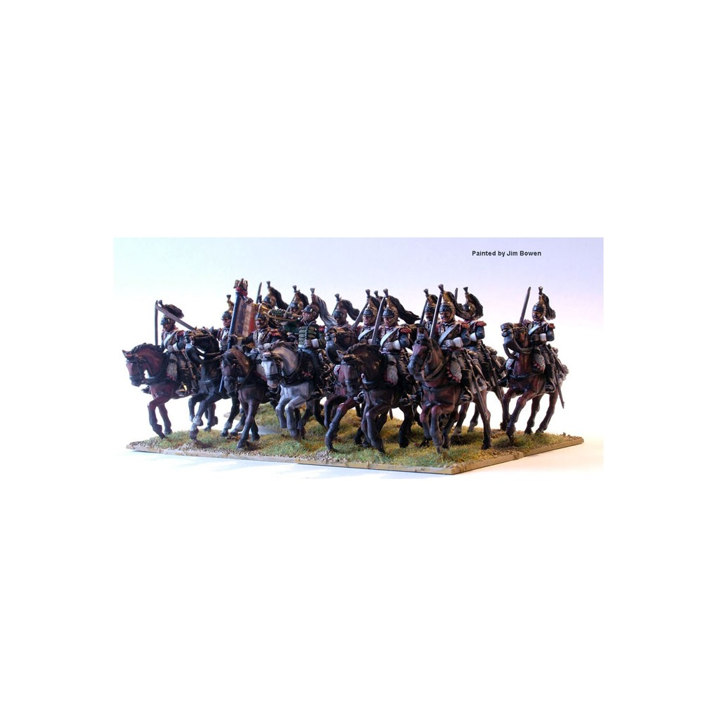 Buy French Napoleonic Heavy Cavalry Board Game Perry