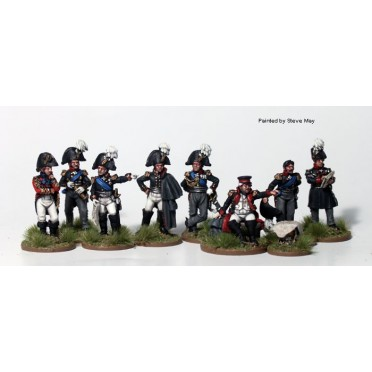 High Command on foot, 1812