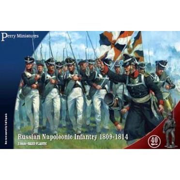 Russian Napoleonic Infantry 1809-14
