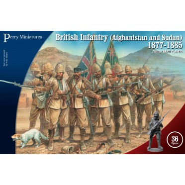 British Infantry in Afghanistan and Sudan 1877-85.