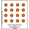 Byzantine Infantry Shield Designs 11 (Gripping Beast) 0