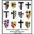 Teutonic Knight Battered Shield Designs 2 (Gripping Beast) 0
