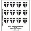 Knights Hospitaller Shield Designs 6 (Gripping Beast) 0