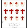Knights Templar Shield Designs 3 (Gripping Beast) 0