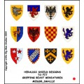 Heraldic Shield Designs 2 (Gripping Beast) 0