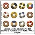 Viking Shield Designs 2 (Gripping Beast) 0