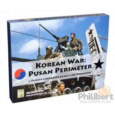 Buy Panzer Grenadier: Korean War – Pusan Perimeter - Board Game - Avalanche  Press