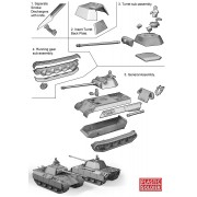 15mm WW2 German Panther Ausf D, A and G Tank