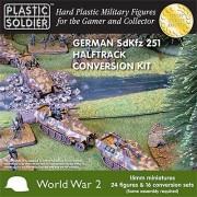 15mm WW2 German SdKfz 251/D Halftrack Conversion Kit