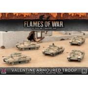 Valentine Armoured Troop (Plastic)