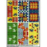 28mm Wars of the Roses Banners