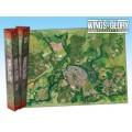 Terrain Mat Tissue - Wings of Glory : Game Mat City - 68x98 0