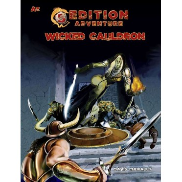 5th Edition Adventure - A3: The Wicked Cauldron