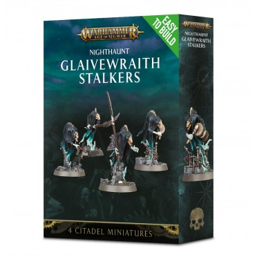 Age of Sigmar : Easy to Build - Nighthaunt  Glaivewraith Stalkers