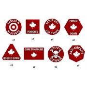 Team Yankee - Canadian Token Set